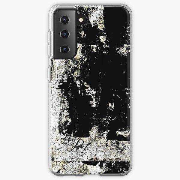 Grey Abstract Samsung Galaxy Soft Case