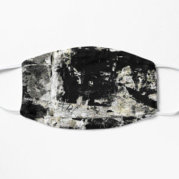 Grey Abstract Flat Mask