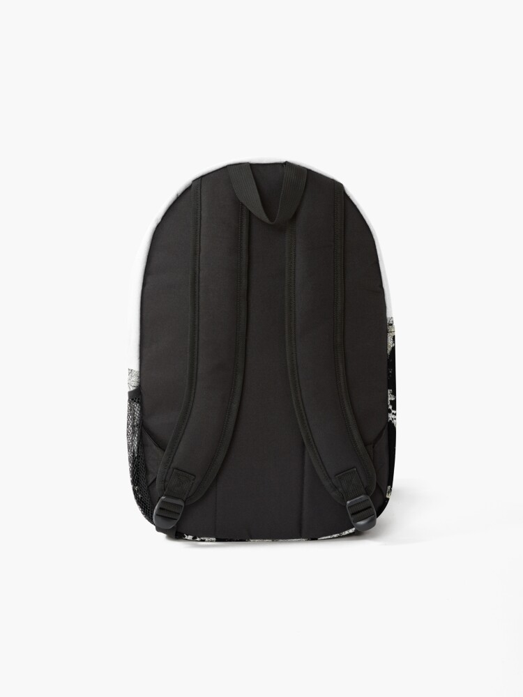 Alternate view of Grey Abstract Backpack