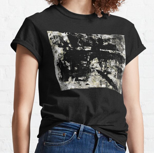 Grey Abstract Classic T-Shirt