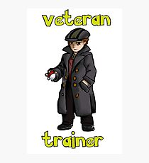 veteran trainer Photographic Print