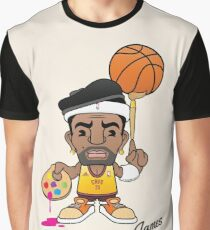 le' Bron James Graphic T-Shirt