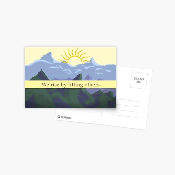 Appreciation Thinking of You Card Design Postcard