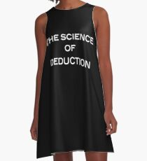 The Science Of Deduction A-Line Dress