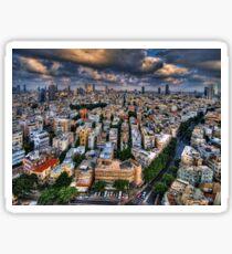 Tel Aviv lookout Sticker