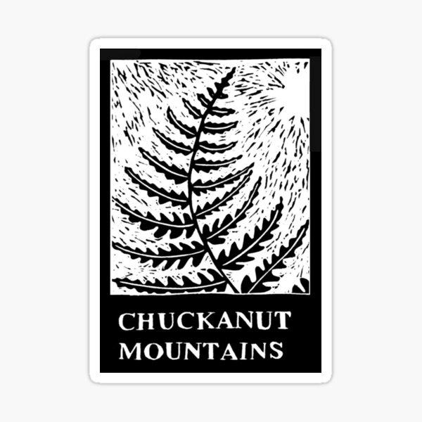 Chuckanut Mountain Bellingham Washington Sticker