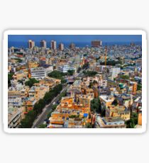 Tel Aviv Eagle Eye City View Sticker
