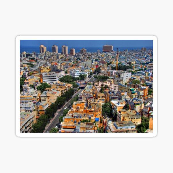 Tel Aviv Eagle Eye City View Sticker