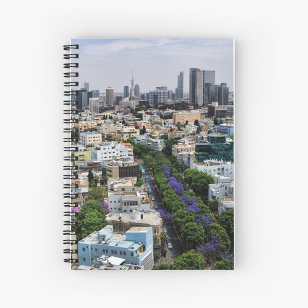 Rothschild boulevard season change Spiral Notebook