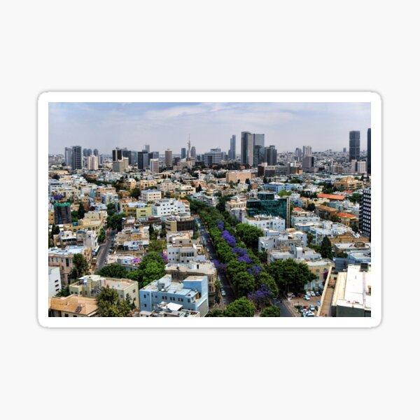 Rothschild boulevard season change Sticker