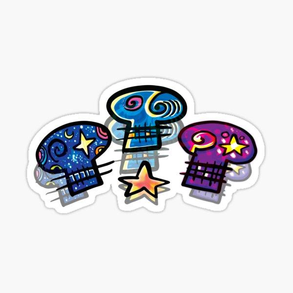Cozmic Skullz - Star Fam Sticker