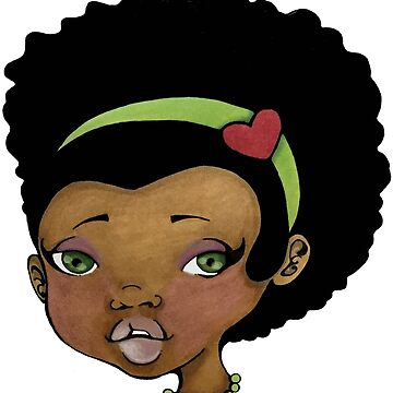 Ethnic Afro Girl... by Celonia