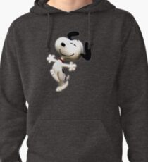 Snoopy, peanut, happy dog,  Pullover Hoodie