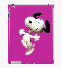 Snoopy, peanut, happy dog,  iPad Case/Skin