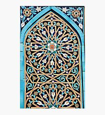 Arabic mosaic ornament Photographic Print