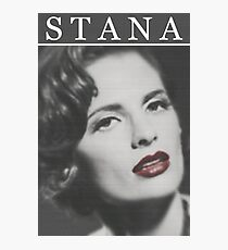 Stana Katic as Marilyn Monroe Photographic Print