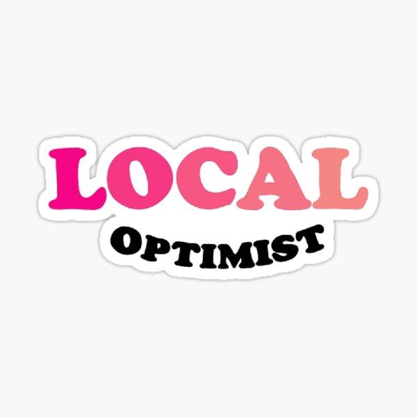 local optimist Sticker