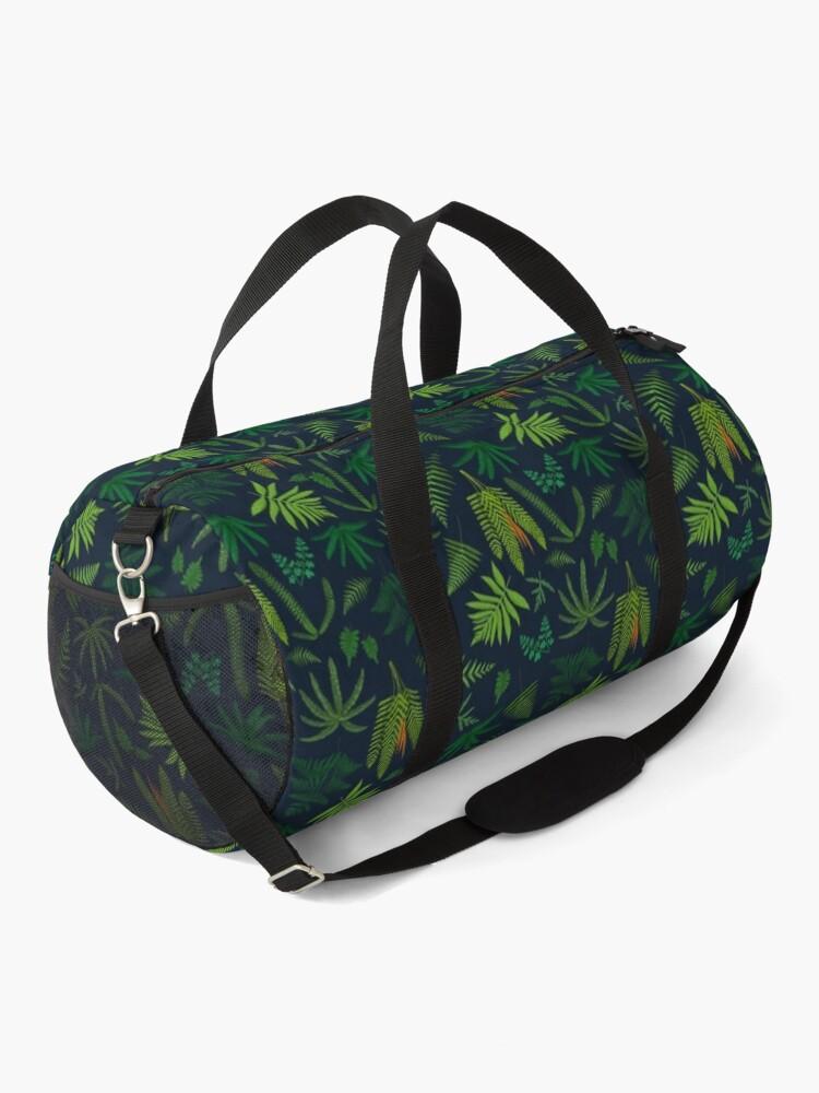 Alternate view of Fresh Adirondack Ferns Duffle Bag