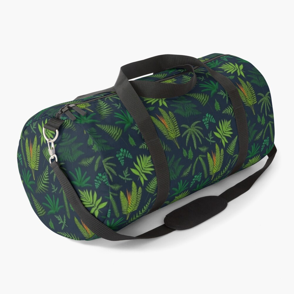 Fresh Adirondack Ferns Duffle Bag