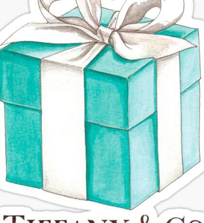 Tiffany & Co. #Gift Sticker