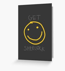 Get Sherlock Greeting Card