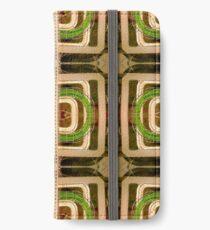 wire matrix collage iPhone Wallet/Case/Skin