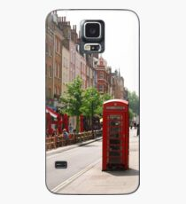 London Telephone Booth Case/Skin for Samsung Galaxy