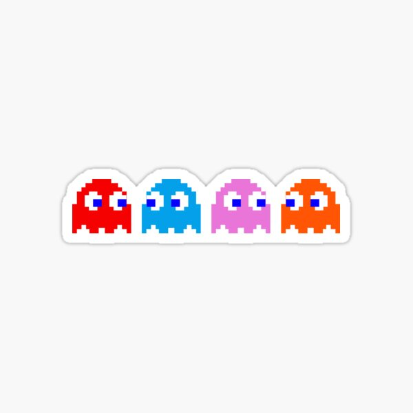 ghost friends Sticker