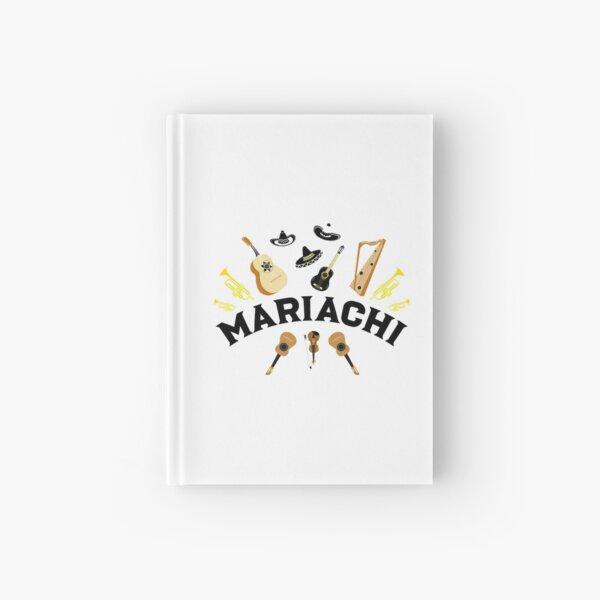 mariachi band pattern bridget Hardcover Journal