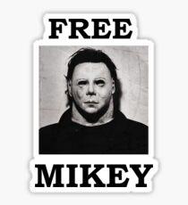Free Mikey Sticker
