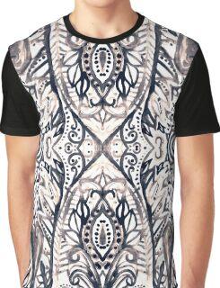 Monochrome Damask Jungle Graphic T-Shirt