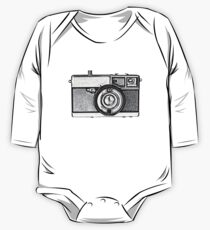 Vintage Camera One Piece - Long Sleeve