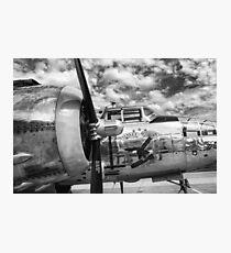 B-25 Mitchell Bomber - WWII, Yankee Warrior Photographic Print