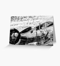 B-25 Mitchell Bomber (WWII) Yankee Warrior Greeting Card