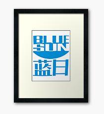 Firefly - Blue Sun Framed Print