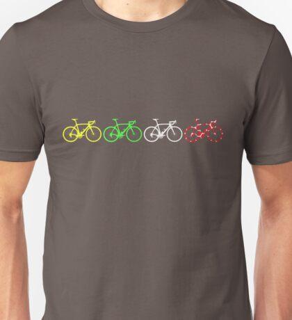 Bike Stripes Tour de France Jerseys v2 Unisex T-Shirt