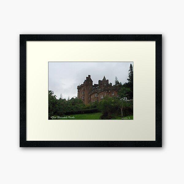 Glenborrodale Castle Framed Art Print
