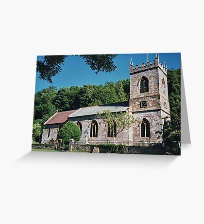 Milton Abbas in Dorset Greeting Card