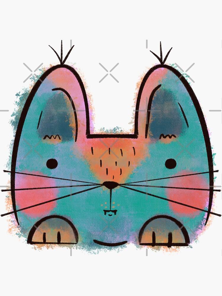 Rainbow Funny Cat by adarovai