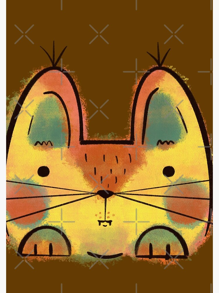 Yellow Funny Cat by adarovai
