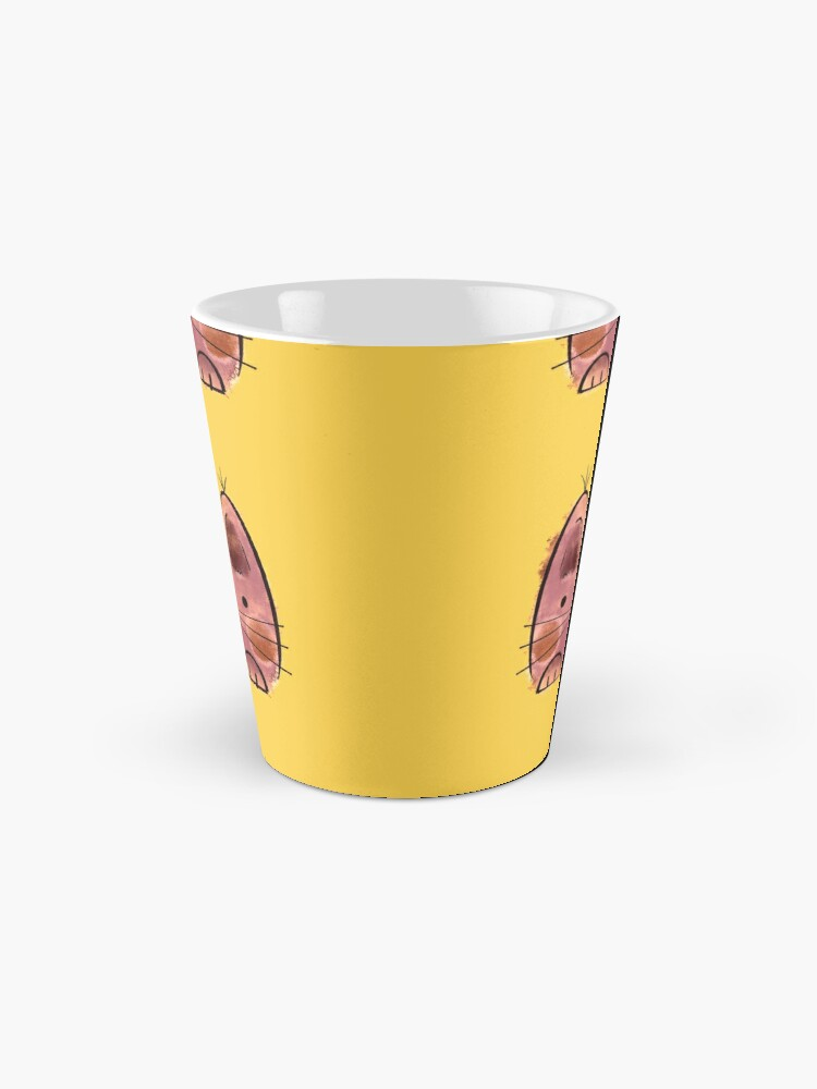 Alternate view of Purple brown Funny Cat Mug