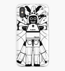 Vitruvian ASIMO. Leonardo da Vinci iPhone Case/Skin