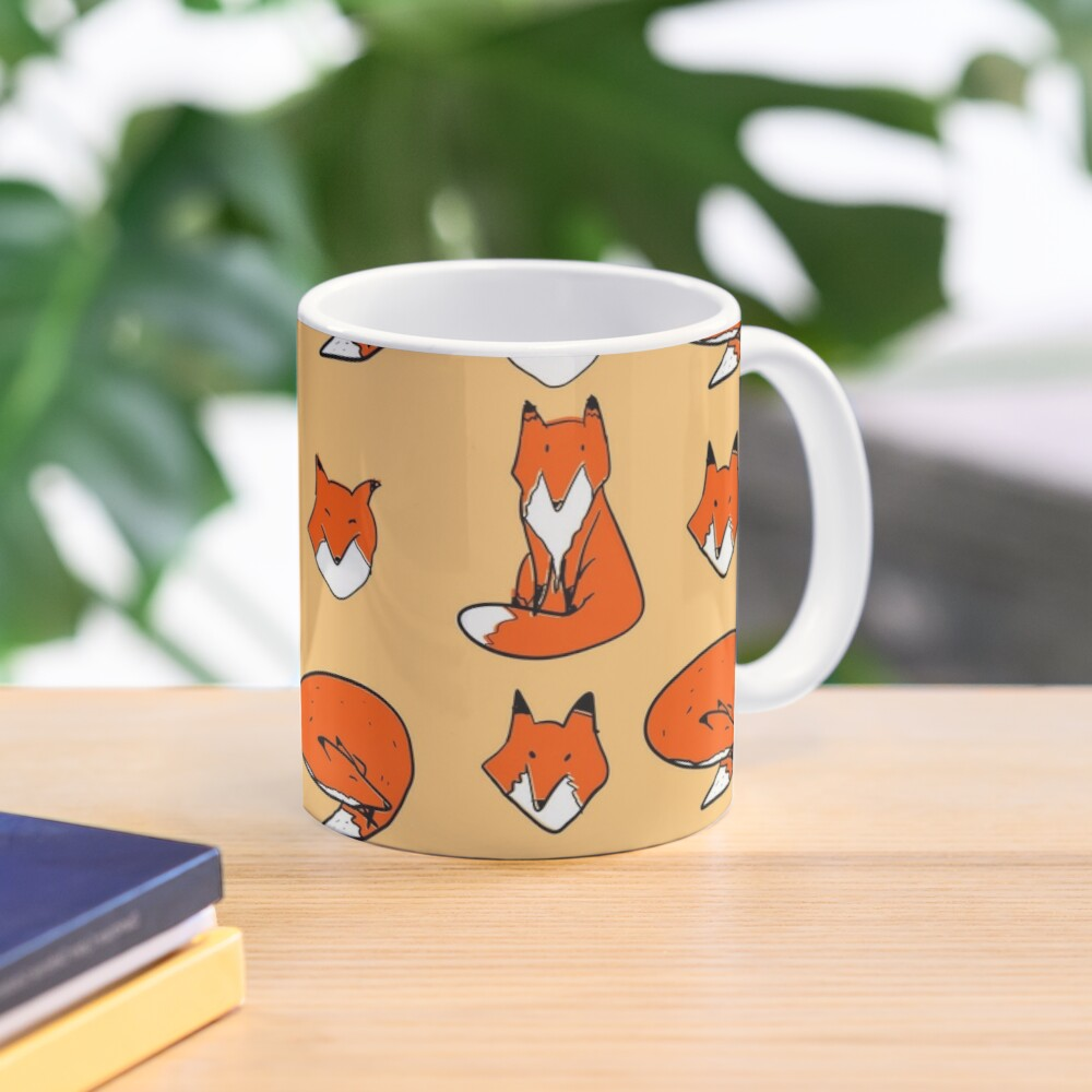 Fox pose Mug