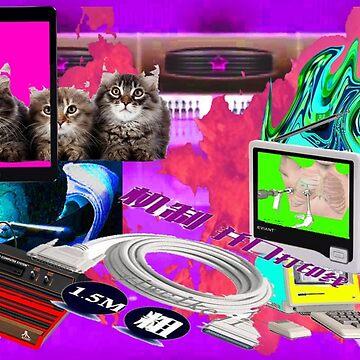 Apocalypse Cat by bobbk