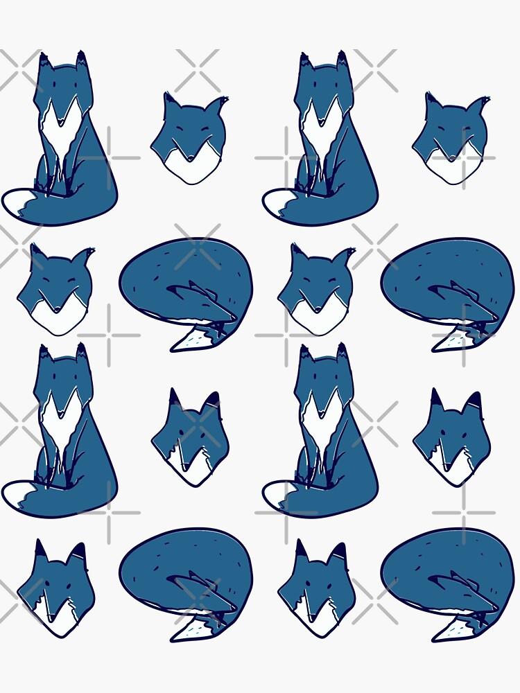 Blue Fox pose by adarovai