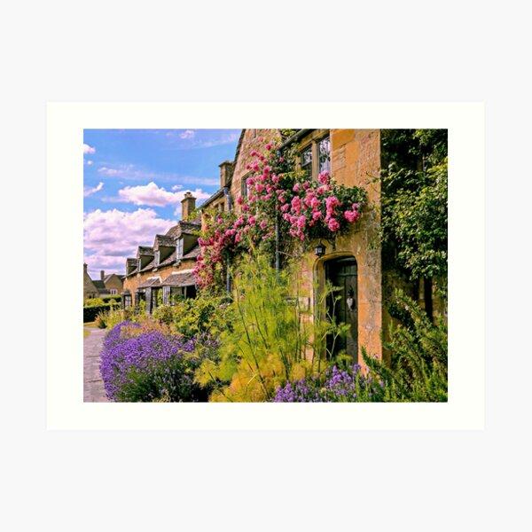 Cotswold Colours Art Print