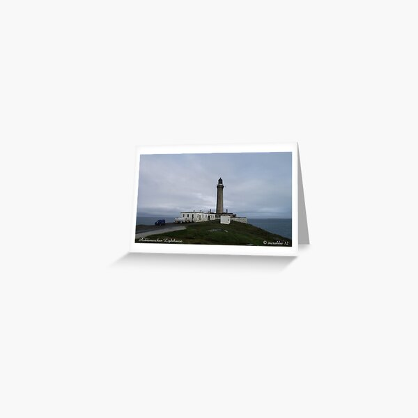 Ardnarmurchan Lighthouse Greeting Card