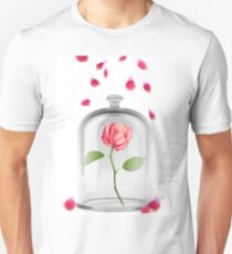 Rose in glass jar Unisex T-Shirt