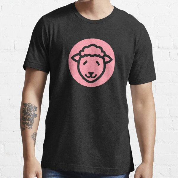 Cute Sheep Icon - in pink Essential T-Shirt