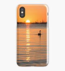 Autumn Sunrise at Mulwala iPhone Case/Skin